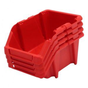 StackNest Plastic Parts Bins