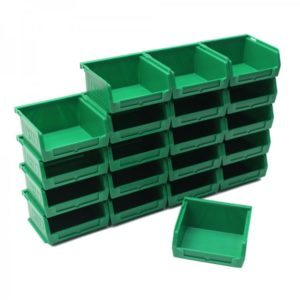 Coloured Plastic Storage Bins